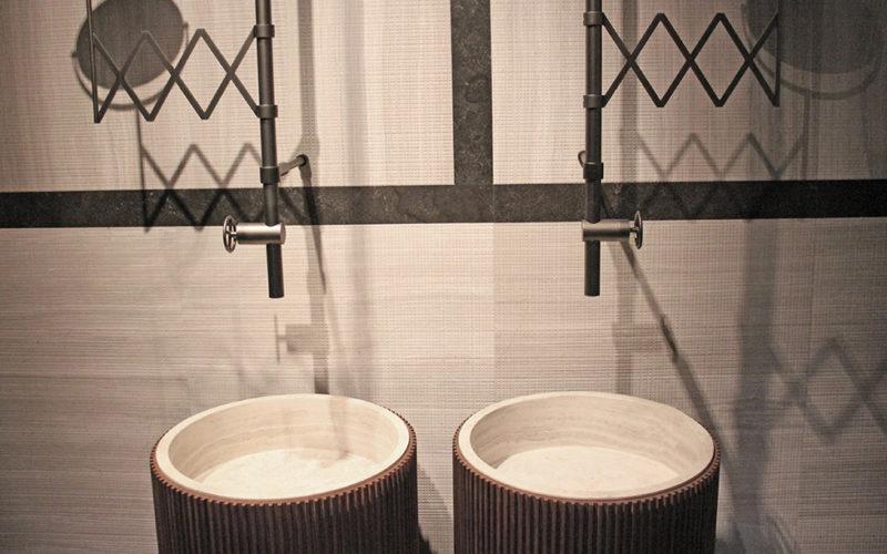 Addio lavabo a colonna | Benvenuto freestanding